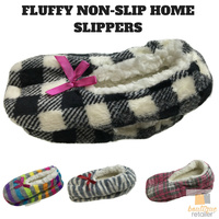 Non Slip Thick Fluffy Fur Home Slippers Socks Soft Bed Socks Comfy Furry