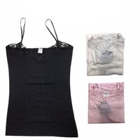 CAMISOLE TOP Strap Cami Top Women's Singlet Summer Basic Tank Shirt GW0101 New