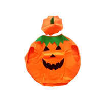 ADULT PUMPKIN COSTUME Halloween Unisex Fancy Dress Up Party Orange Vegetable New