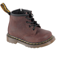 Dr. Martens Brooklee B Lace Up Kids Comfort Boots Shoes Toddler Children's New