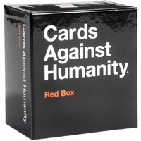 Cards Against Humanity Set Card Game Family Party Gift Expansion - Red Box