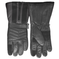 DENTS Thinsulate Leather MOTORBIKE GLOVES Fur Lined Winter Motor Bike Motorcycle