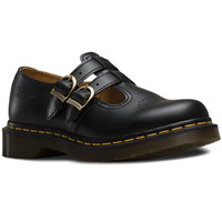 Dr. Martens 8065 Double Strap Mary Jane Shoes Flats Leather School Style Sandals