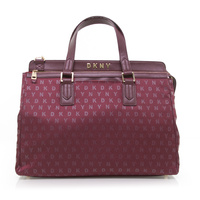 DKNY Signature Professional Laptop Bag - Burgundy