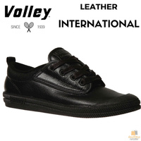 DUNLOP VOLLEY International Leather Sneakers Casual Lace Up Shoes Volleys New