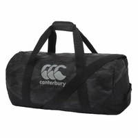 Canterbury Packaway Duffle Bag Gym Duffel Travel - Jet Black