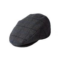 FAILSWORTH Hudson 6 Panel Flat Cap Hat Wool Flat Driving Warm MADE IN UK