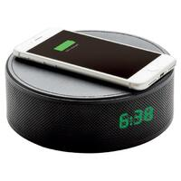 3-In-1 Alarm Clock, Bluetooth Speaker & Wireless Phone Charger