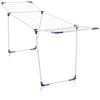 LEIFHEIT Foldable Classic 180 Aluminium Clothes Drying Airing Rack Stand