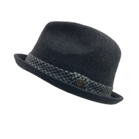 282009fc7dfcf GOORIN BROTHERS James Columbo Trilby Fedora Warm Hat Bros 100% Wool 10