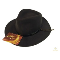 INDIANA JONES Cowboy Hat 100% Wool Felt Quality Felt IJ003 Authentic