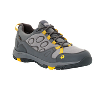 Jack Wolfskin Men's Waterproof Activate Texapore Low Hiking Shoes - Burly Yellow