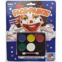 FACE PAINT Costume Party Non-Toxic Palette Clown Dress Up Make Up Halloween
