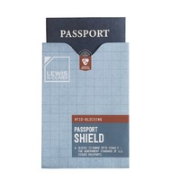 Lewis N. Clark RFID Passport Sleeve Shield ID Blocking Protector Holder