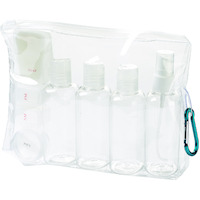 Lewis N. Clark TSA 3-1-1 Carry On Travel Bottles Toiletry Set Kit Liquids
