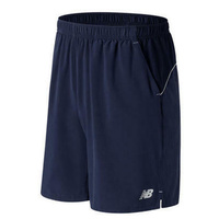 "New Balance Men's Casino 9"" Tennis Shorts Gym Sports - Aviator Blue"