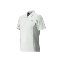 New Balance Men's Baseline Polo Tennis Top Competition - White