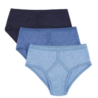4 Pack Marks & Spencer Classic Briefs Underpants Cotton Undies - Assorted Pack