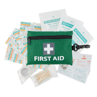 43pcs MINI FIRST AID KIT Emergency First Aid Kit Medical Travel Set Pocket Family Safety AU
