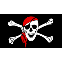 PIRATE FLAG Skull Party Pirates Skull & Crossbones Large 150 x 90 Jolly Roger
