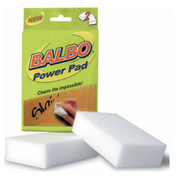 2 Pack BALBO Power Pad Cleaning Pad Eraser Magic Cleaning Tool