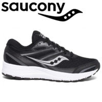 Saucony Women's Versafoam Cohesion 13 Runners Sneakers - Black/White
