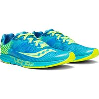 Saucony Women's TYPE A8 Racing Runners Sneakers Running Shoes - Blue/Citron