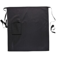 Portwest Waist Safety Apron with Pocket - Black