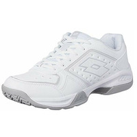 Lotto Women's T-Tour IX 600 Tennis Shoes Sneakers Runners - White/Silver