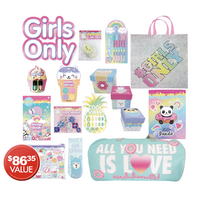 Girls Only Showbag 20 With Bag