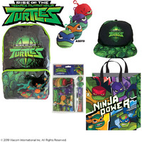 NINJA TURTLES Rise of the TMNT Showbag Pack Show Bag Pack Show Bag - Backpack, Hat & More