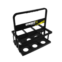 Summit 6x Water Bottle Bottle Carrier Soccer Football Rugby Sports Game Drink Holder