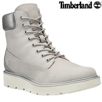 "TIMBERLAND Kennison 6"" Lace Women's Boots High Tops Leather Sneakers"