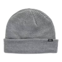 VANS Core Basics Beanie Warm Winter Knit Hat Ski Cap - Heather Grey