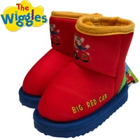 THE WIGGLES Big Red Car Boots Children's Kids Shoes Indoor Outdoor UGG