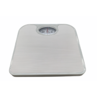 130kg Woolworths Mechanical Bathroom Scales Weight Checker Kilo Kg Kilograms White