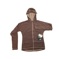 ExOfficio Women's Migrator Zip Hiking Trekking Hoodie Jumper Jacket Winter Sport